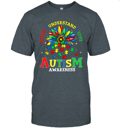Autism Awareness Shirt Accept Understand Love Autism Mom Shirt