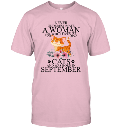 Never Underestimate An Old Woman Who Loves Cats And Was Born In December Shirt