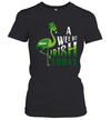Flamingo A Wee Bit Irish Today St Patrick's Day Gift Shirt