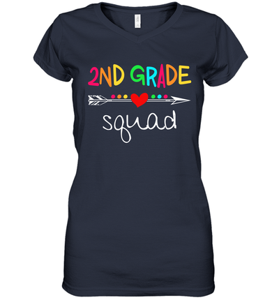 2nd Grade Squad Second Teacher Student Team Back To School Shirt