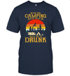 Never Take Camping Advice From Me You'll End Up Drunk Vintage Shirt