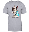 Pug Dog Tattoo I Love Mom Funny Shirt