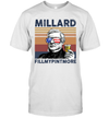 Millard Fillmypintmore US Drinking 4th Of July Vintage Shirt Independence Day American T-Shirt