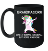 Grandmacorn Like A Normal Grandma But More Awesome Mug