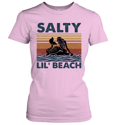 Mermaid Salty Lil' Beach Vintage Shirt