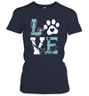 Pet Paw Love Nurse Shirt Funny Dog Graphic Tees