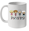 Chibi Golden Girls Thank You For Being A Friend Graphic Tee Mug