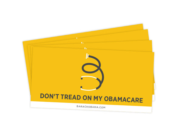 Obamacare bumper sticker pack