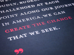 """Create the Change"" Poster"