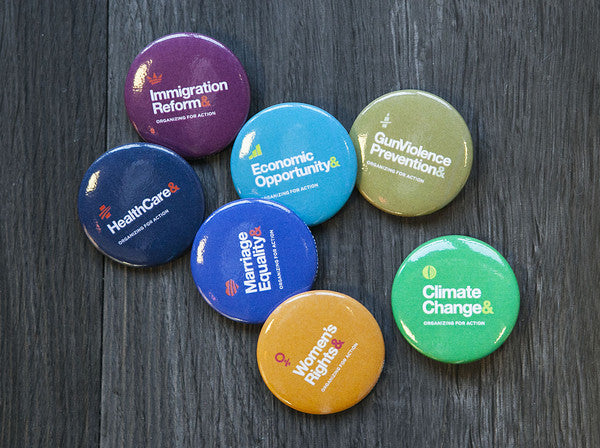 Organizing& Buttons