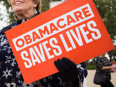 Obamacare Saves Lives Placards