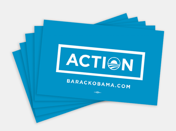 Action Bumper Sticker Pack