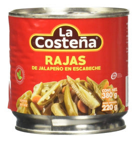 Chile Rajas La Costeña 380g