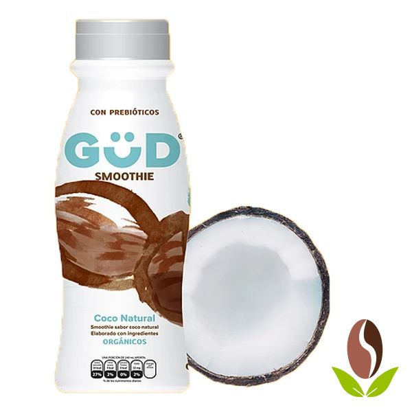 Smoothie Org. Coco Natural GÜD Pet  de 240 mls.