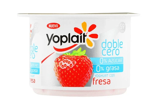 Yoplait doble Cero Fresa 125gr