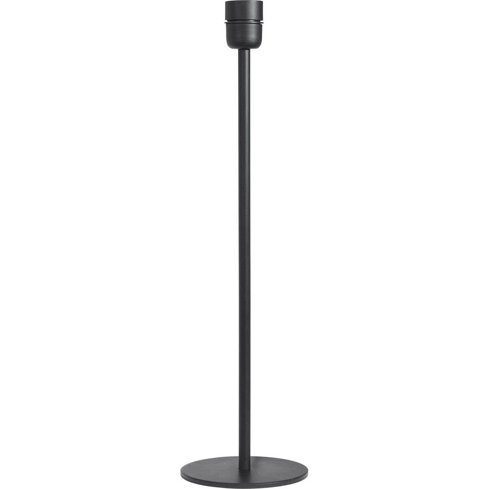 Simple Black Lamp Base