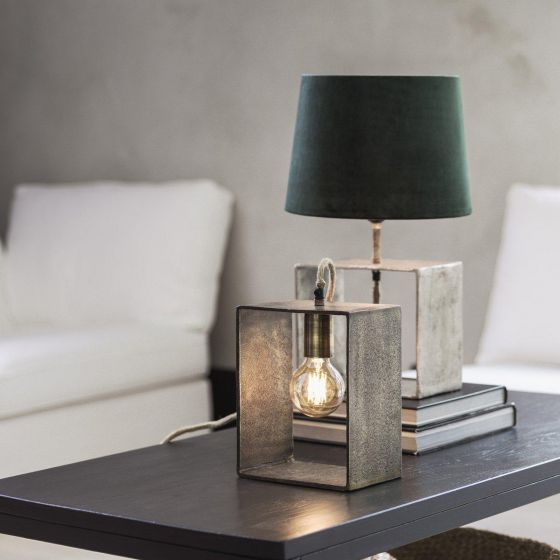 Raw Box Table Lamp