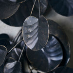 Load image into Gallery viewer, Black Metal Eucalyptus Wreath