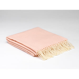 Soft Pink Lambswool Scarf