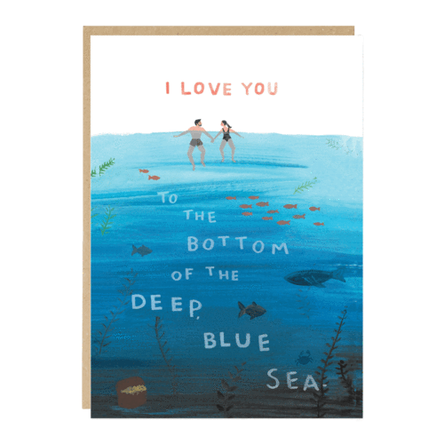 Bottom of the Sea Valentine's Card
