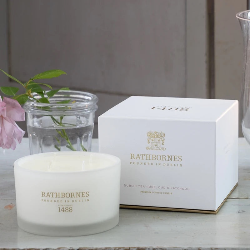 Rathbornes Dublin Tea Rose, Oud & Patchouli
