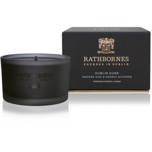 Rathbornes Dublin Dusk Single Wick Candle