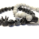 King Obsidian & Skull Stack
