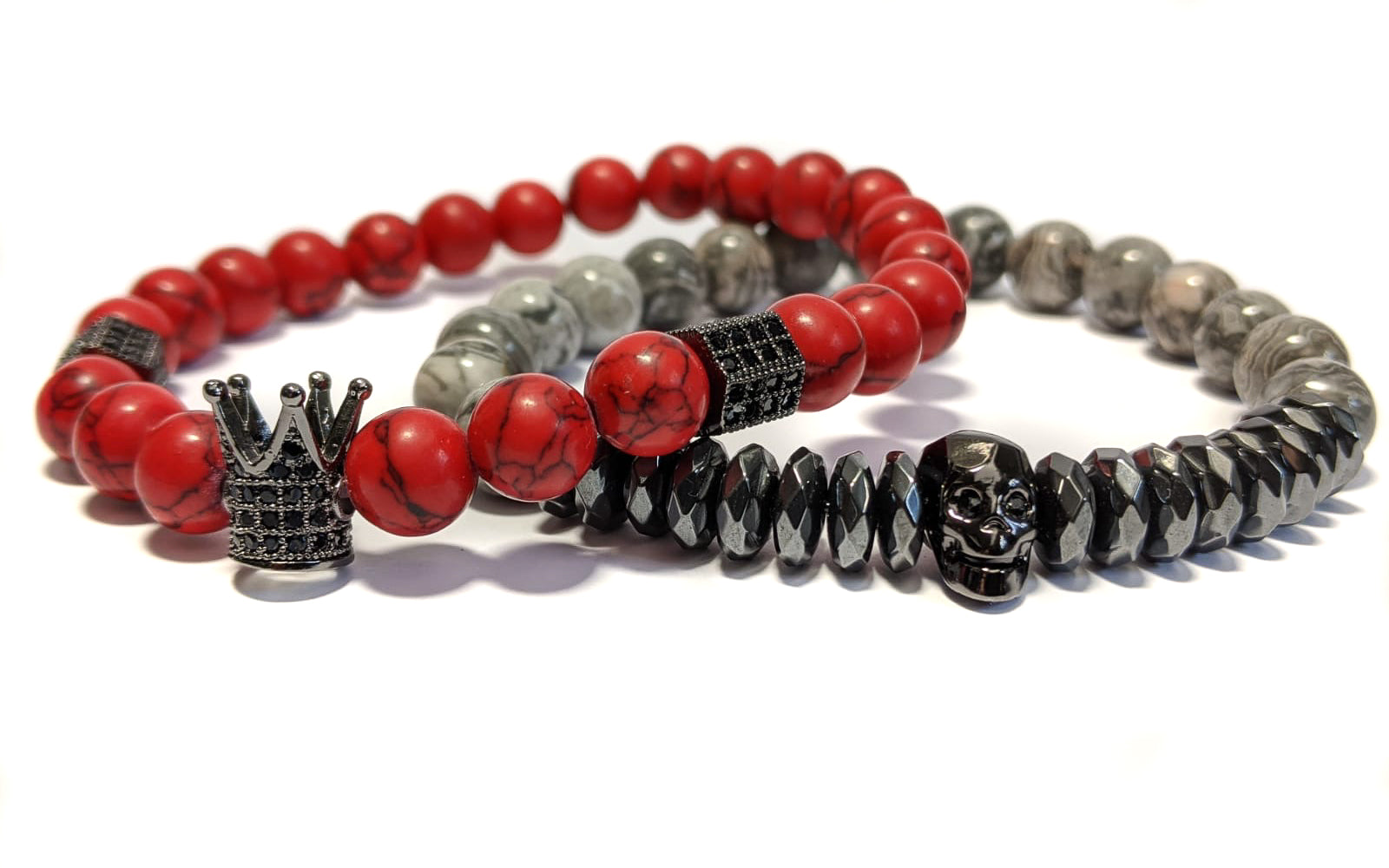 King Howlite The Red Stack