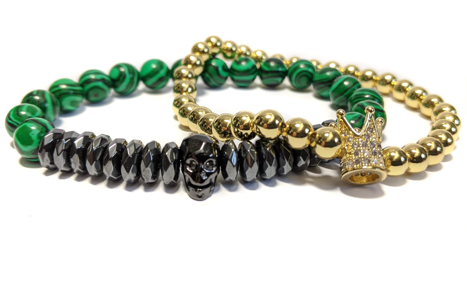King Malachite Stack