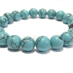 Beaded Blue Howlite
