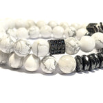 King Howlite The White Stack