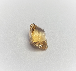 Citrine, 10mm by 8mm Radiant cut