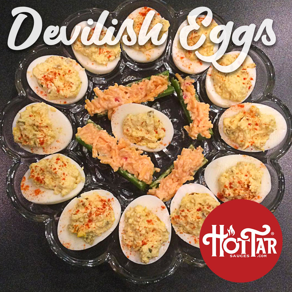 HOT TAR Devilish Eggs Recipe