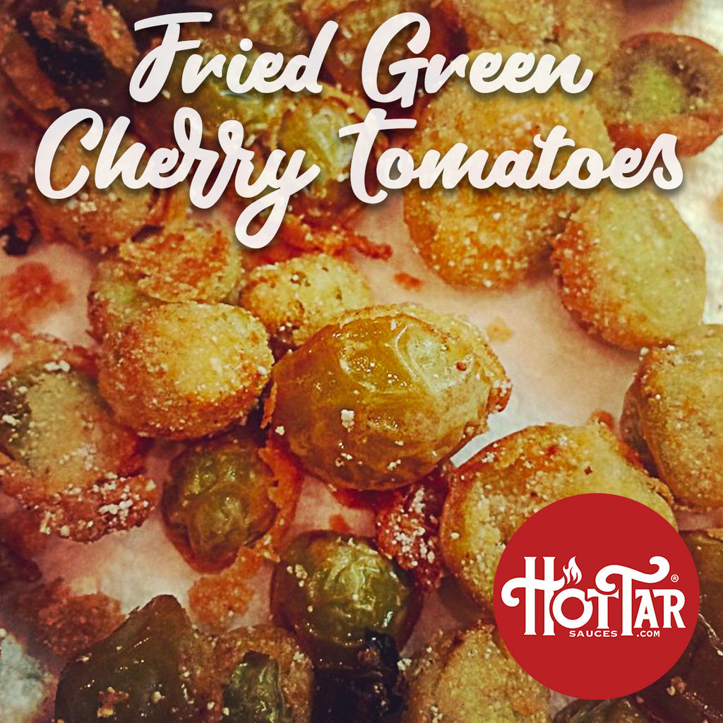 HOT TAR Fried Green Tomatoes Recipe
