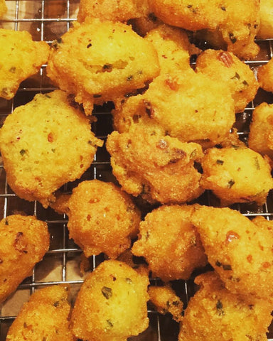Hot Tar Hush Puppies