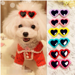 Heart Sunglasses Hairpin Clips