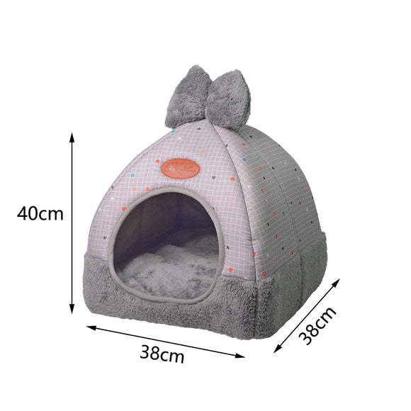 Pet Bed  Sofa Warming Fleece Pad