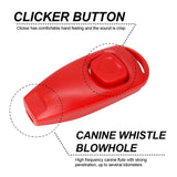 Dog Training Accessories Whistle Clicker