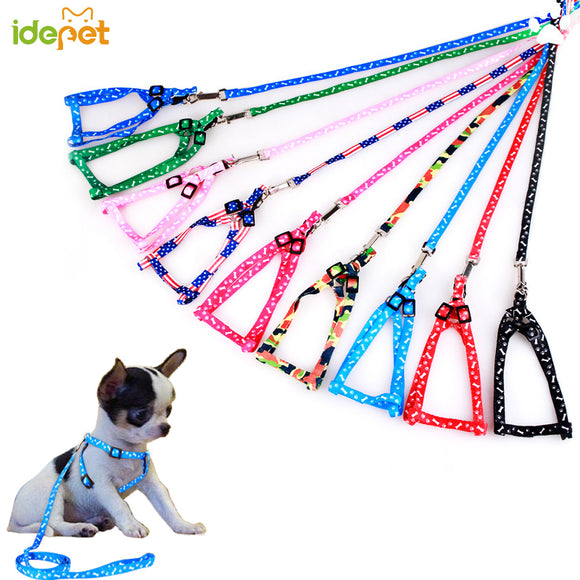 Harness Adjustable Puppy  for Small Dogs Cat