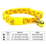 Pet  Adjustable  Collar Polka Dot with Bell