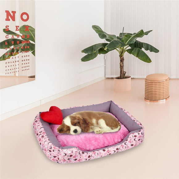 Dog Bed Fleece Plush Waterproof Cloth