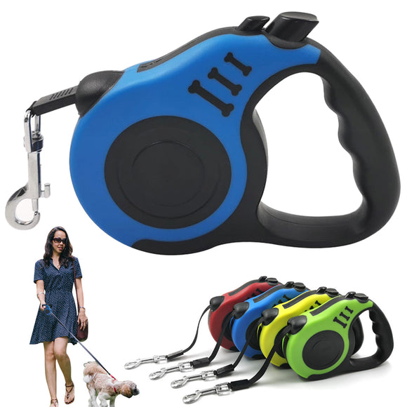 3M/5M Retractable Dog Leash Automatic Flexible For Small to Medium Dogs