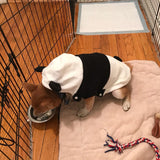 Cute Panda Dog Hoodies