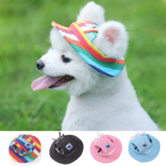 Summer Cloth Mesh Breathable Pet Sun Hat