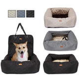 2 In 1 Pet  Folding Car Seat Pad Carrier