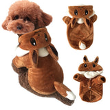 Winter Funny Dog Costume Play Pokemon