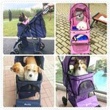 Pet lightweight  folding Stroller Cart
