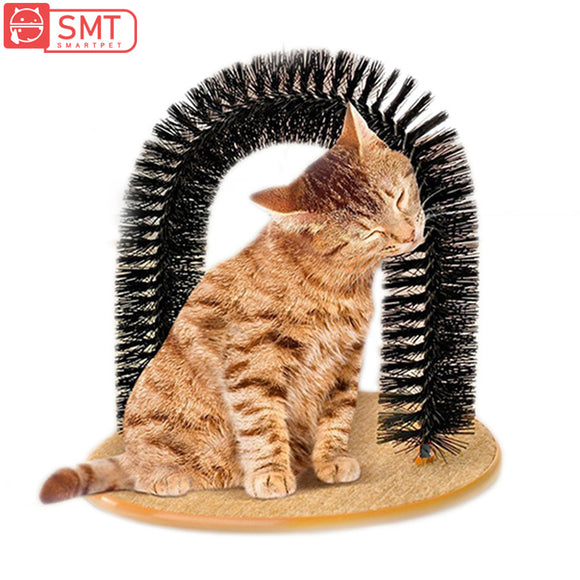 Cat Toy Plastic Scratch Arch Massager