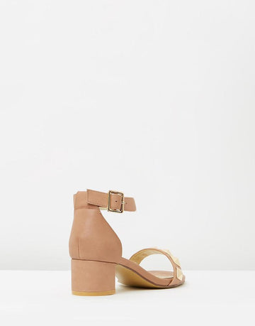Izoa Majorca Sandals Taupe (SIZE 37 ONLY)