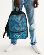 Find Your Coast Ocean Camo Small Canvas Backpack - Global Planet